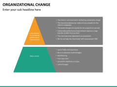 Organizational change PPT slide 20