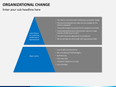 Organizational change PPT slide 9