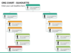 ORG Chart with Silhouette