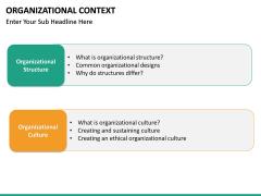 Organizational Context PPT slide 24