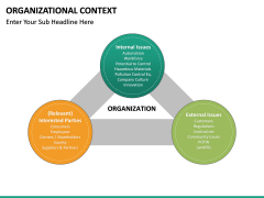 Organizational Context PPT slide 21