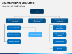 Organizational structure PPT slide 7