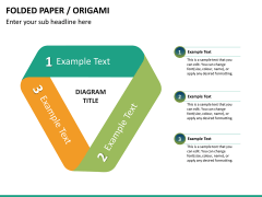 Origami style PPT slide 24
