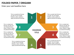 Origami style PPT slide 17