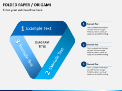 Origami style PPT slide 10