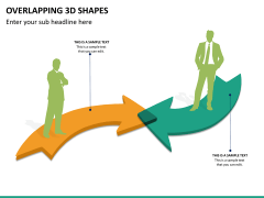Overlapping 3d shapes PPT slide 7