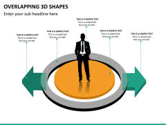 Overlapping 3d shapes PPT slide 8