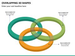 Overlapping 3d shapes PPT slide 9