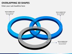Overlapping 3d shapes PPT slide 4