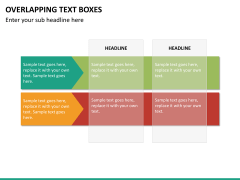 Overlapping text boxes PPT slide 12