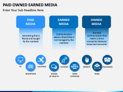 Paid owned earned PPT slide 2