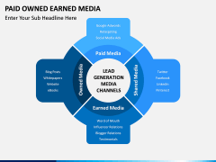 Paid owned earned PPT slide 9