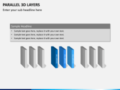 Parallel 3d layers PPT slide 1