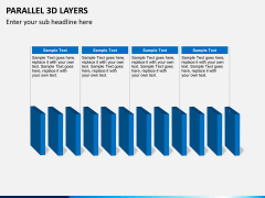 Parallel 3d layers PPT slide 2