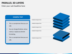 Parallel 3d layers PPT slide 5