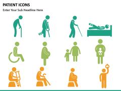 Patient icons PPT slide 4