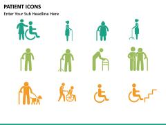 Patient icons PPT slide 5