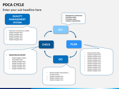 PDCA cycle PPT slide 10