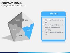 Pentagon puzzle PPT slide 3