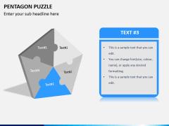 Pentagon puzzle PPT slide 4