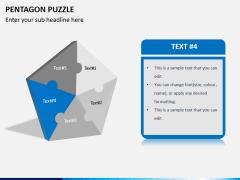 Pentagon puzzle PPT slide 5