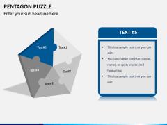 Pentagon puzzle PPT slide 6