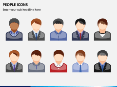 People icons PPT slide 2