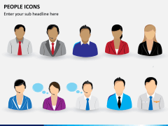People icons PPT slide 3