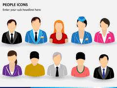 People icons PPT slide 4