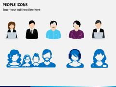 People icons PPT slide 6