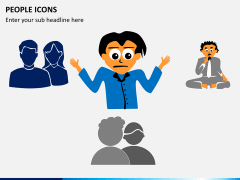 People icons PPT slide 7