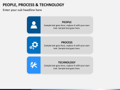 People process tech PPT slide 3