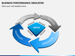 Business performance indicator PPT slide 1