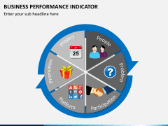 Business performance indicator PPT slide 2