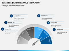 Business performance indicator PPT slide 3
