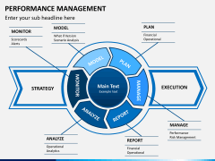 Performance management PPT slide 1