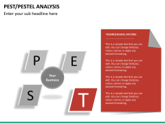 PEST/Pestel analysis PPT slide 26