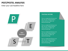 PEST/Pestel analysis PPT slide 23