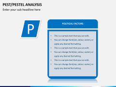 PEST/Pestel analysis PPT slide 12