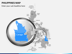 Philippines map PPT slide 14