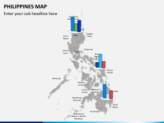 Philippines map PPT slide 16