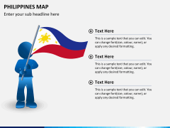 Philippines map PPT slide 24