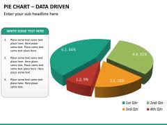 Pie chart PPT slide 15