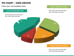 Pie chart PPT slide 16