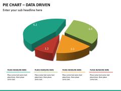 Pie chart PPT slide 17