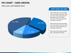 Pie chart PPT slide 10