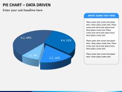 Pie chart PPT slide 11