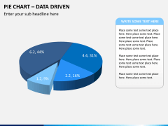 Pie chart PPT slide 12