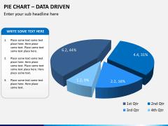 Pie chart PPT slide 3