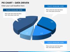 Pie chart PPT slide 4
